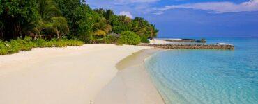 laguna na Maledivách