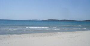 Pláž Porto Pino Sardinie