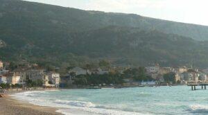 Pláž Baška, ostrov Krk