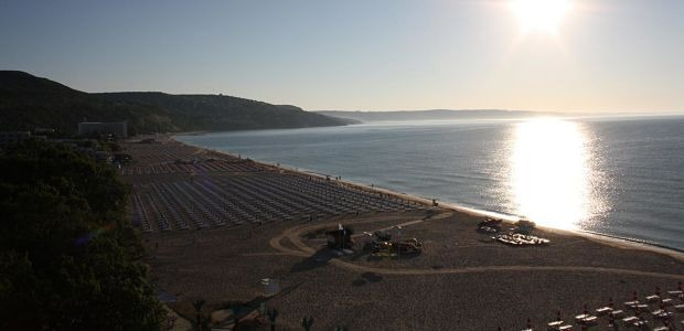 Albena pláž, Bulharsko