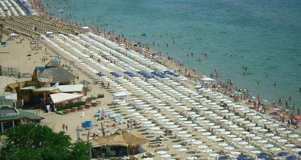 Pláž Zlaté Písky Bulharsko