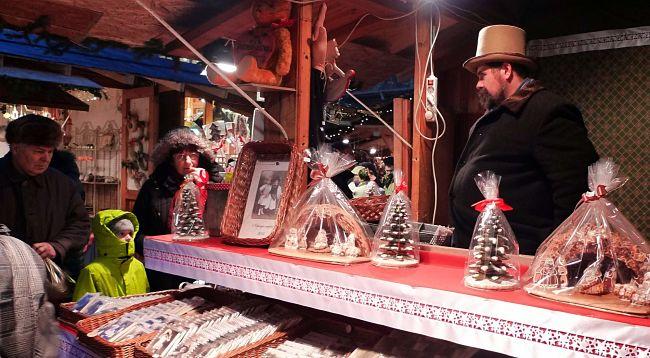 Vánoční trhy Budapešť