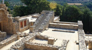 Knossos, Řecko, Kréta