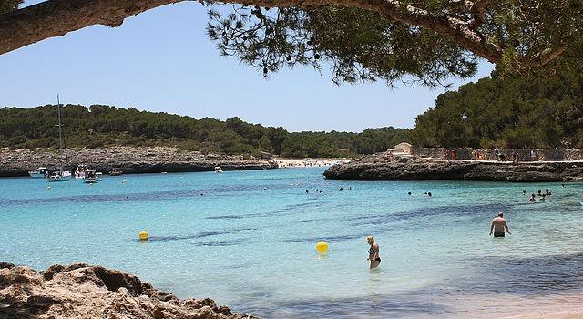 Cala Mondrago Beach, Mallorca