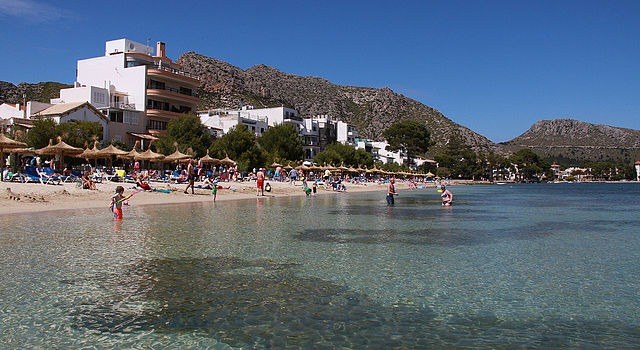 Pláž Port De Pollenca