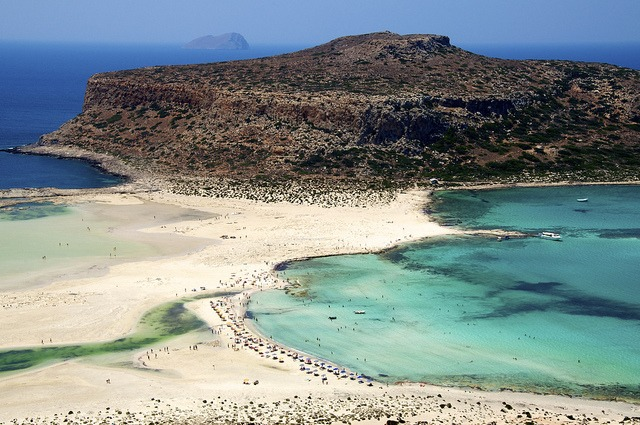 Balos beach, Kréta