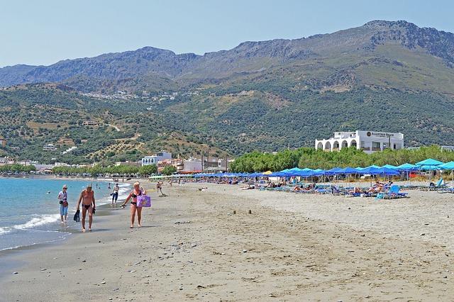 plakias beach, kréta