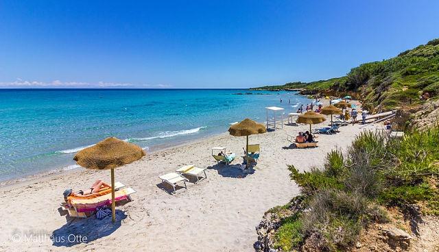 Pláž Baia dei turchi