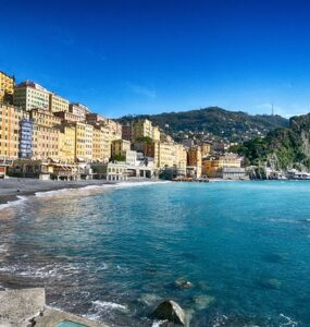 camogli beach