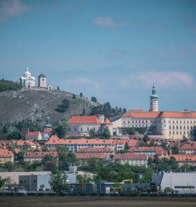 Mikulov na jižní Moravě