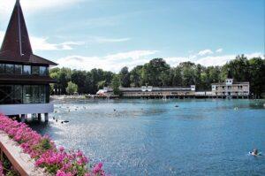 Termální jezero Hevíz